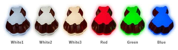 選べる発色カラー