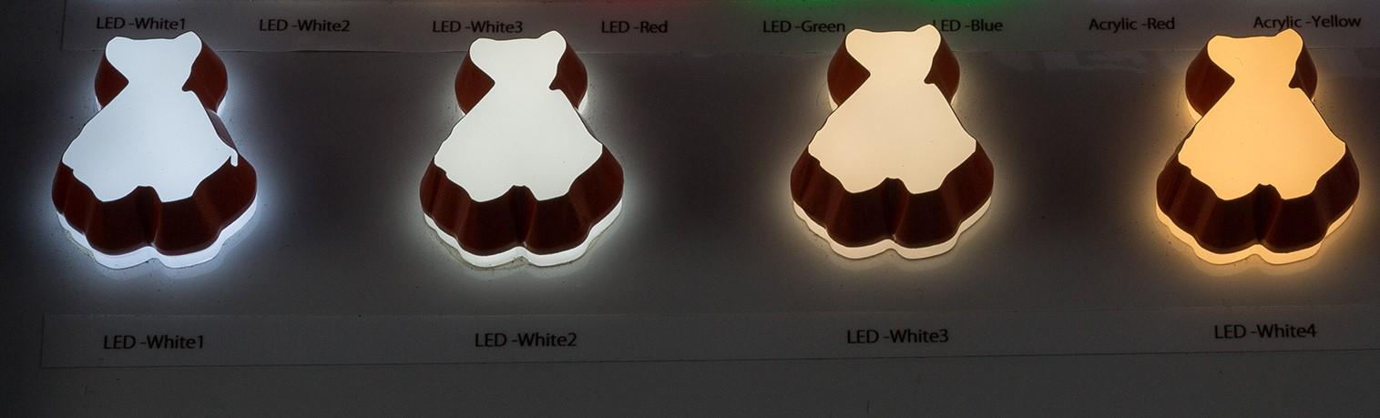 LEDサイン 発光色