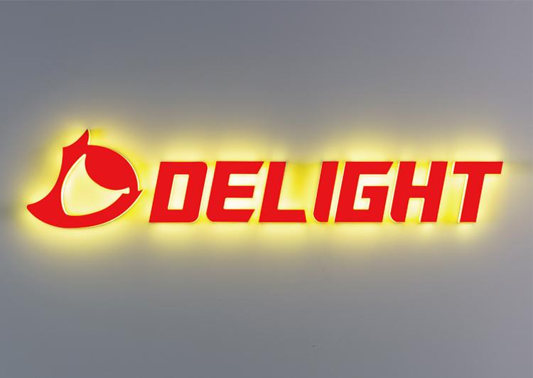 LEDサイン 全面発光 AllLit DELIGHT