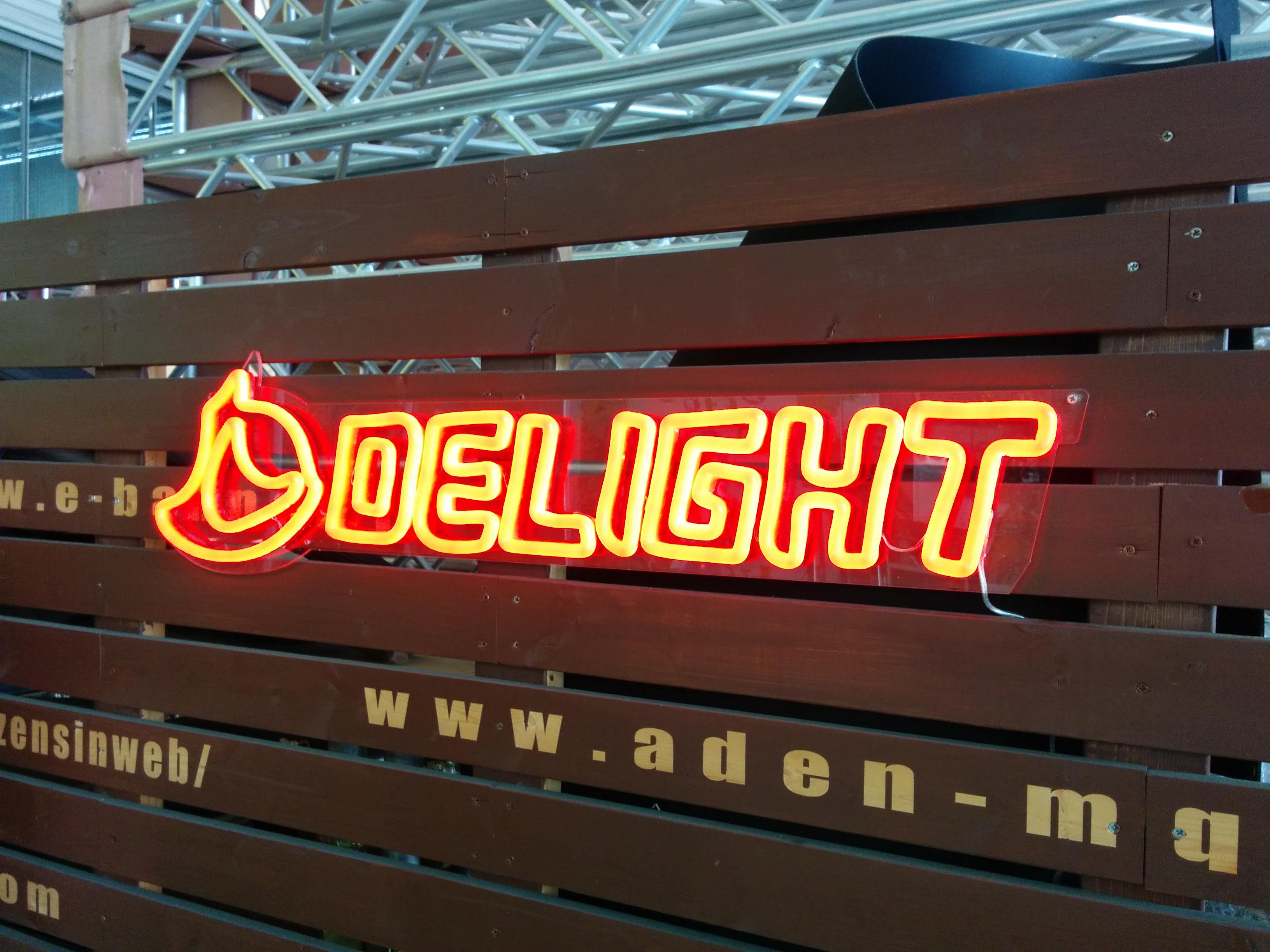 LEDネオンサンプル制作事例